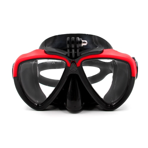 TELESIN Scuba Diving Mask Goggles Swimming Face Mask with Bracket Mount for GoPro SJCAM Dazzne Xiaomi Yi Sports Action Camera от Tomtop.com INT