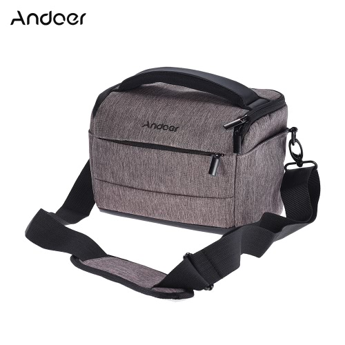 Buy Andoer Cuboid-shaped DSLR Camera Shoulder Bag Portable Fashion Polyester Case 1 2 Lenses Small Accessories Canon Nikon Sony FujiFilm Olympus Panasonic