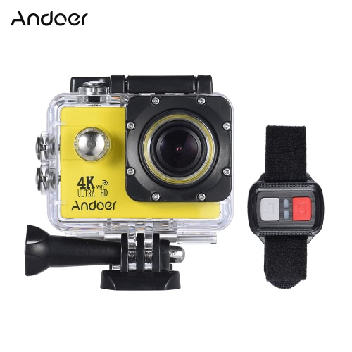 Andoer AN4000 4K 30fps 16MP WiFi Action Sports Camera от Tomtop.com INT