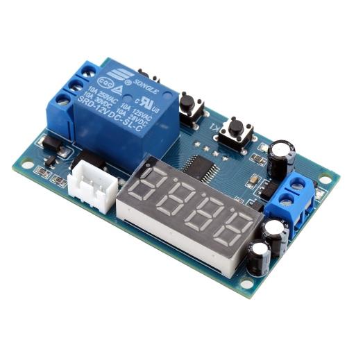 Buy -40-125u00b0C 12V Digital Thermostat Temperature Sensor Control Switch Module Probe