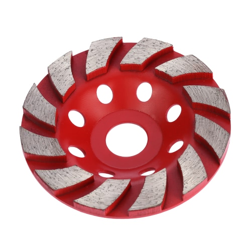 "100mm 4"" Diamond Segment Grinding Wheel Disc Bowl Shape Grinder Cup Concrete Granite Masonry Stone Ceramics Terrazzo Marble for Building Industry"