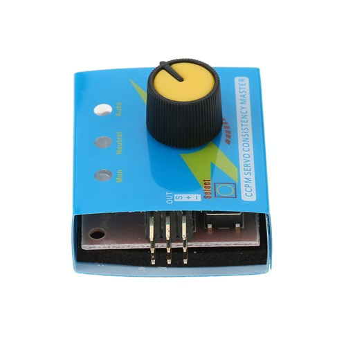 Simple Adjustable Steering Gear Tester 3-Gear Servo for Model Airplane Helicopter Motor Test от Tomtop.com INT