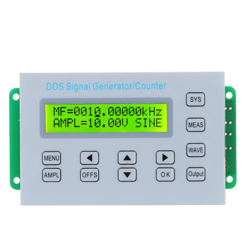 Buy 2/5/10/15MHZ SGP3010 DDS Function Signal Generator Frequency Counter Synchronized TTL/Impulse Output Square Wave Sweep Panel