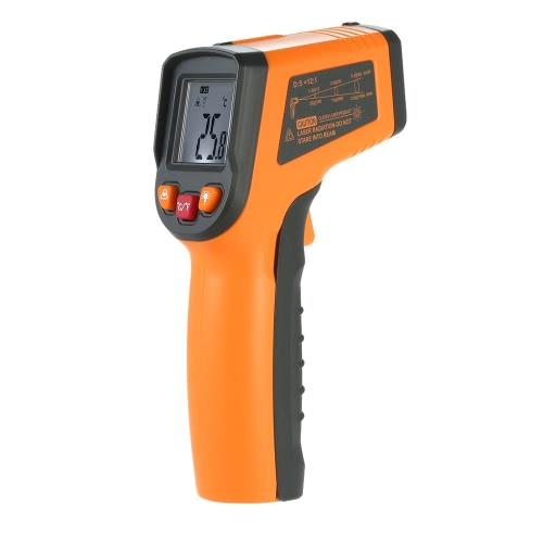 Buy Meterk -50~400u00b0C 12:1 Portable Handheld Digital LCD Non-contact IR Infrared Thermometer Temperature Measurement Pyrometer Backlight