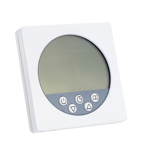 C16 European Type Programming Heating Thermostat with Touchscreen in LCD Display Durable Temperature Controller Useful Central Heating Room Controller Nice Quality Home Improvement Product