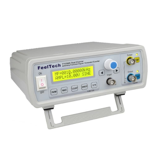 High Precision Digital DDS Dual-channel Function Signal Source Generator Arbitrary Waveform/Pulse Frequency Meter 12Bits 250MSa/s Sine Wave 6MHz