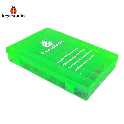 Buy Brand New Keyestudio 36-in-1 Sensor Module Kit Compatible Board Arduino Starters - Black