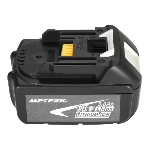Buy Meterk BL1840 18V 4.0Ah Power Tools Battery High Capacity Recharcheable Lithium replacement Pack MAKITA