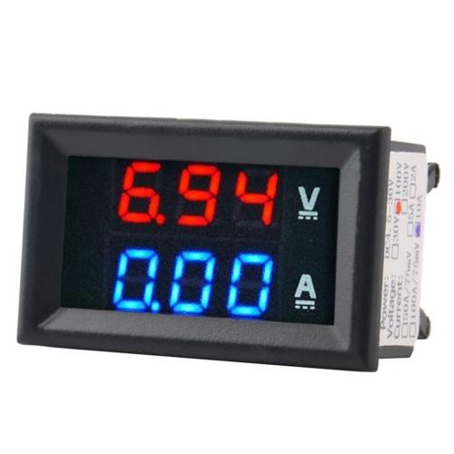 Universal Portable Car Motorcycle Battery Charger 100V-240V LED Light Voltage Indicator EU Plug for Car Motorbike UTV RV