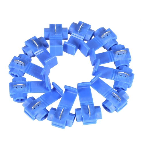 Buy 10Blue Scotch Lock 16-14 AWG Connectors Electrical Wire Cable Insulated Quick Splice Crimp Terminals