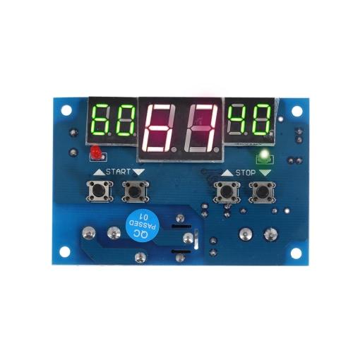 Buy 12V Intelligent Digital LED Thermostat -9u00b0C-99u00b0C Temperature Controller Heating Cooling Control