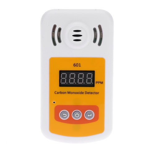 Portable Mini Carbon Monoxide Detector CO Gas Meter with Sound and Light Alarm