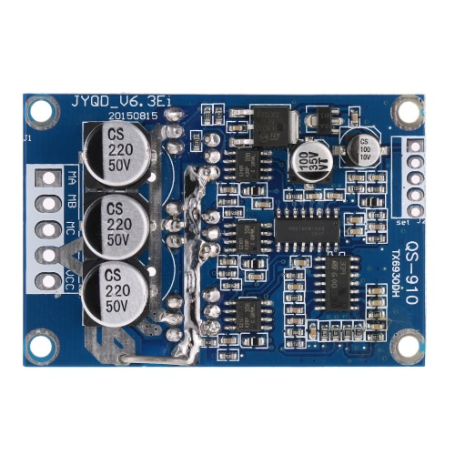 Buy DC 12V-36V 500W Brushless Motor Controller Without Hall PWM Control Balanced Car Driver Board