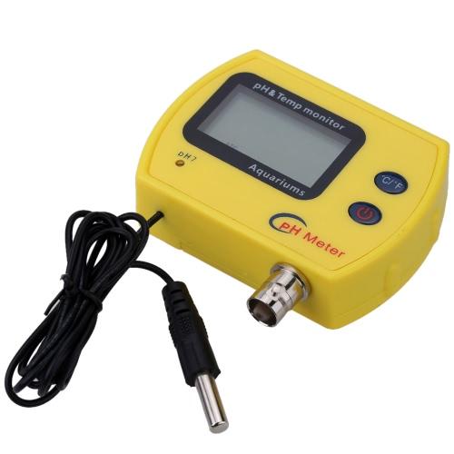 Buy Professional High Precision Portable Online pH Meter Aquarium Acidimeter Water Quality Analyzer & TEMP Measure Household Drinking Solution
