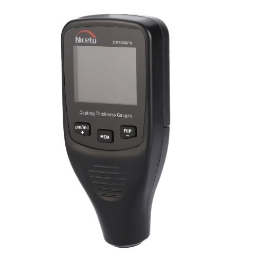 Buy Nicety CM8806FN Handheld Digital Coating Thickness Gauge Tester Fe/NFe Single & Continuous Measurement Data Storage