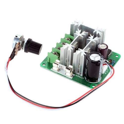 Buy Adjustable DC Motor Speed PWM Controller Adjuster PLC Control 6V 12V 36V 60V 90V 1000W Pulse Width 0%-100%