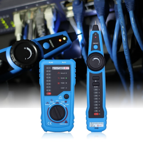 Multi-functional Handheld Wire Tester Tracker Line Finder Cable Testing Tool for Network Maintenance от Tomtop.com INT