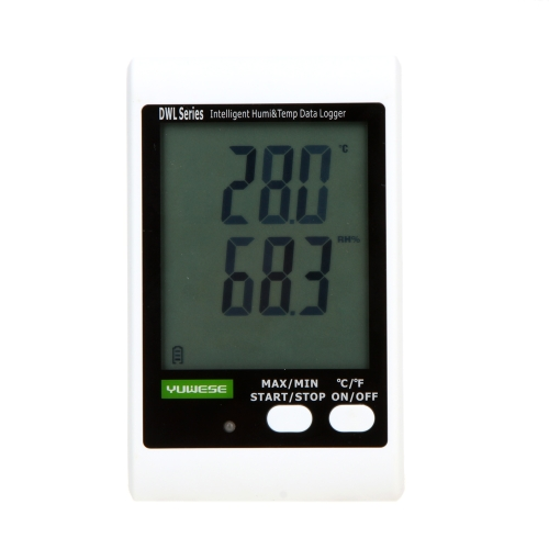 Buy LCD Digital Temperature Humidity Data Recording Logger Meter Thermometer Hygrometer USB Cable PC Connecting