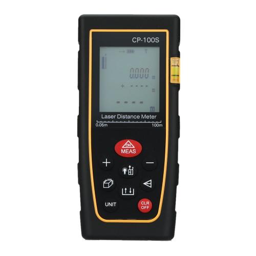 Buy 100m Digital Handheld Laser Distance Meter Range Finder Measure Diastimeter Area/Volume Tool
