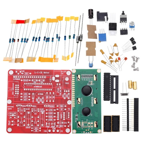 Buy M8 Digital Inductance Capacitance Meter DIY Kit Electrolytic Capacitor Testing Tester