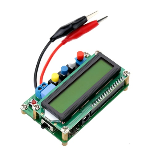 Buy LC100-A Digital LCD High Precision Inductance Capacitance L/C Meter Capacitor Test Mini USB Interface