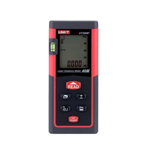 Buy UNI-T UT390B+ Handheld 40m Digital Laser Distance Meter Range Finder Measure Area Volume Self-calibration Level Bubble