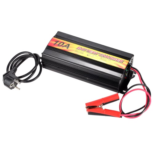Buy Professional High Frequency Smart 12V Lead Acid Battery Charger Car Motorcycle AC220uff5e240V
