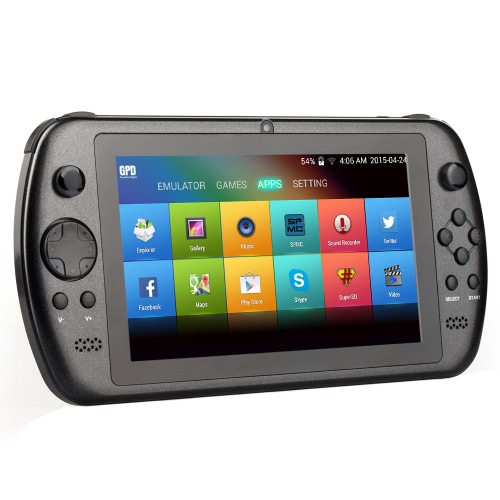 Buy GPD Q88+ RK3288 Quad Core Android 4.4 7 Inch 1024 * 600 IPS Capacitive Screen Video Game Console Handheld 3D Player Tablet PC 0.3MP Camera