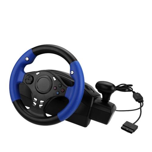 Buy PC USB Game Wheel Racing Steering & Pedal Hand Brake