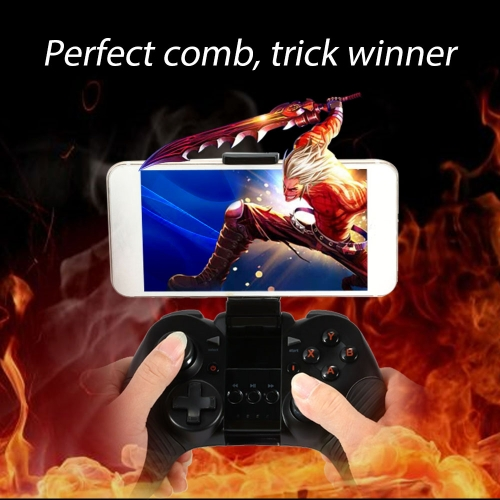 Buy Wireless Bluetooth Gamepad Android 4.0 3.0 Game Machine Nibiru+HID Modes Dual Analog Sticks Console iPhone 6S 6 Plus Samsung S6 S5 Note 4 HTC Laptop PC Notebook Tablet Smart TV Set-top Box