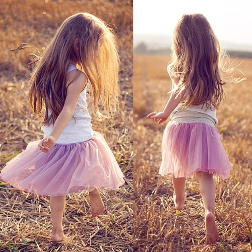 Fashion Kids Baby Girls Two-Piece Set Solid Vest Sleeveless T-Shirt Lace Mesh Tulle Tutu Bubble Skirt Outfits Purple от Tomtop.com INT