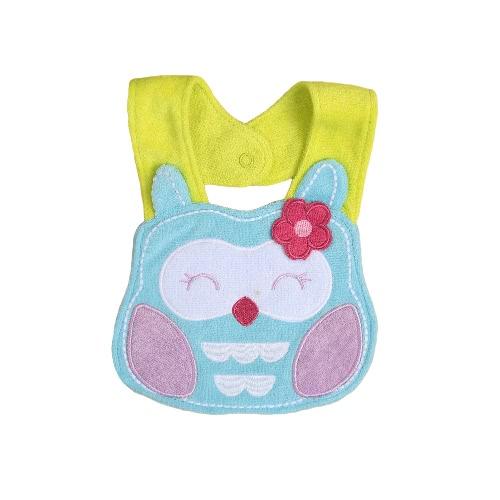 Buy Cute Baby Kids Infant Cartoon Animal Bibs Waterproof Soft Saliva Towel Teething Bib Toddler Burp Cloths
