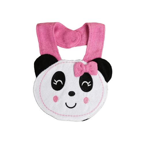 Buy Baby Kids Cartoon Lunch Bib Cute Animal Embroidery Cotton Waterproof Boys Girls Slaliva Towel Burp Cloths