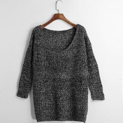 Casual Loose Autumn Long Sleeve Women's Knitwear Sweater