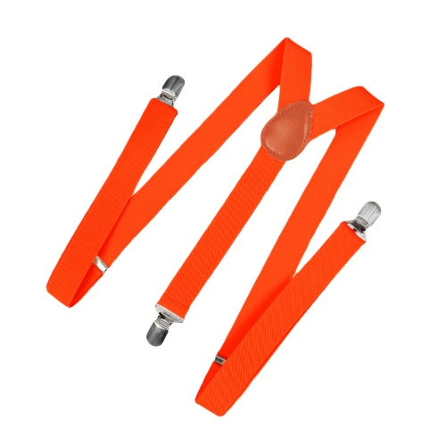 Buy Fashion Clip Suspenders Elastic Y-Shape Back Formal Unisex Adjustable Braces