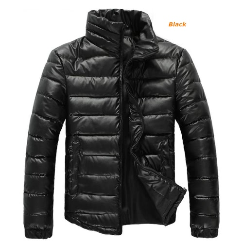 Mens Winter Coats Warm Parkas Stand-up Collar Jackets от Tomtop.com INT