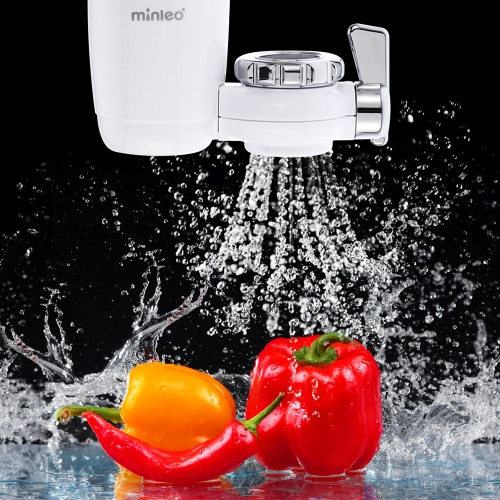 Buy Minleo Tap Water Purifier Kitchen Faucet Filtration Activated Carbon + Ceramic Filter Elements Switchable Type