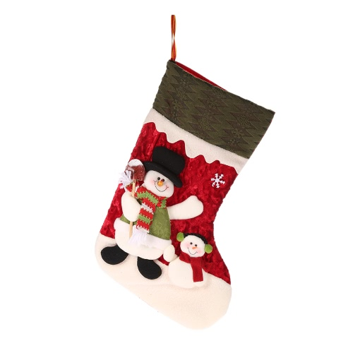 Buy Festnight Santa Claus Snowman Christmas Stocking Socks Candy Gift Bag Xmas Tree Decorations Festival Party Ornaments