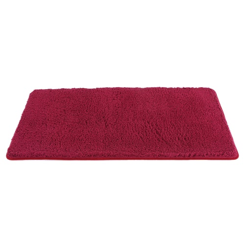 Buy 60*120cm Super Soft Shaggy Area Rug Highly Absorbent Carpet Non-skid Footcloth Mat Ground Fluffy Rugs Floor