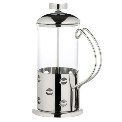 350ml Stainless Steel French Press Pot High-end Cafetiere Coffee Cup Tea Filter 3-Cup Coffee Maker Tea Maker