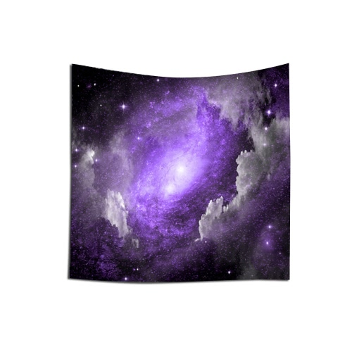 Buy 130*150cm Polyester Home Wall Decor Art Starry Sky Stars Printing Hanging Tapestry Beach Throw Towel Blanket Picnic Carpet Bedspread Tablecloth Women Fashion Clothing
