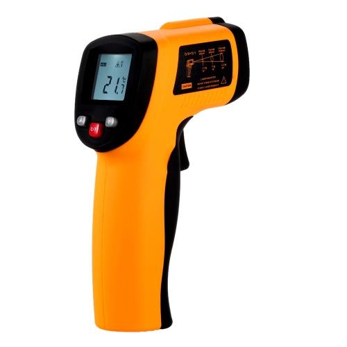 Buy KKmoon GM550 Non-contact 12:1 Digital Infrared IR Thermometer Temperature Gun Tester Range -50~550u00b0C (-58~1022u00b0F)