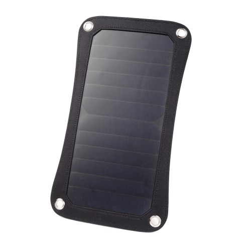 Outdoor Travel Portable Solar Charger Mobile Power Supply Pad Wild Adventure Recharger 6.5W Solar Energy Hang Panel от Tomtop.com INT