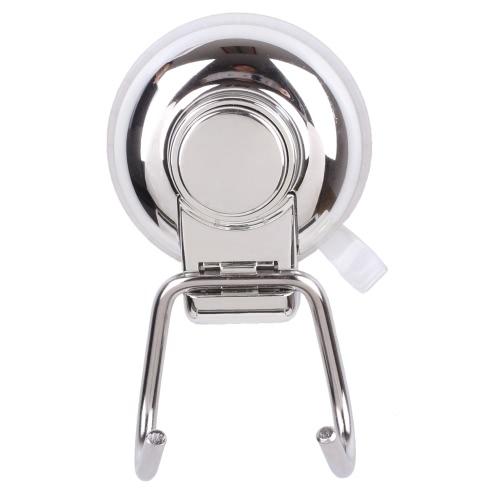 Buy Stainless Steel Wall-mounted Design Hook Rack Hanger Heavy Duty Vacuum Suction Cup Storage Organization Tool Towel Coat Kitchen Bathroom