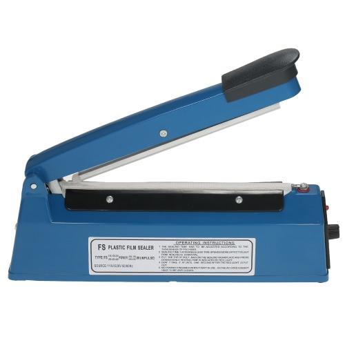 Buy 220V 50Hz Manual Plastic Film Sealer Heat Impulse Poly Bag Sealing Machine Hand