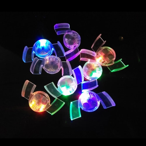 Buy 4 LED Lights Flashing Mouth Multi-color Smile Mouthpieces Braces Glow Teeth Light Party Halloween Guard Rave Gift Funny Tooth Toys