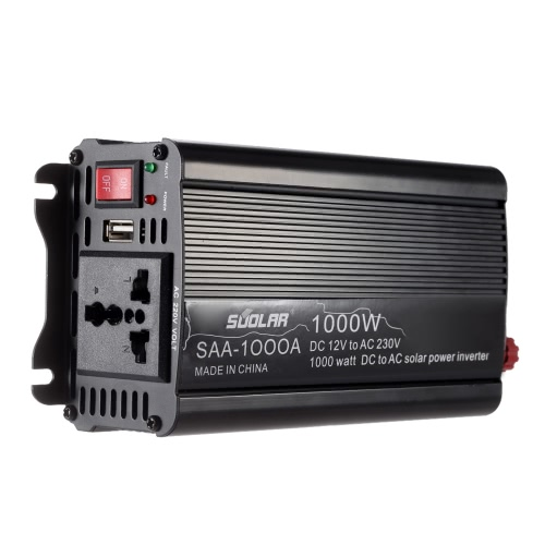 300W DC12V to AC220-240V AC Household Solar Power Inverter Converter Modified Sine Wave Form от Tomtop.com INT