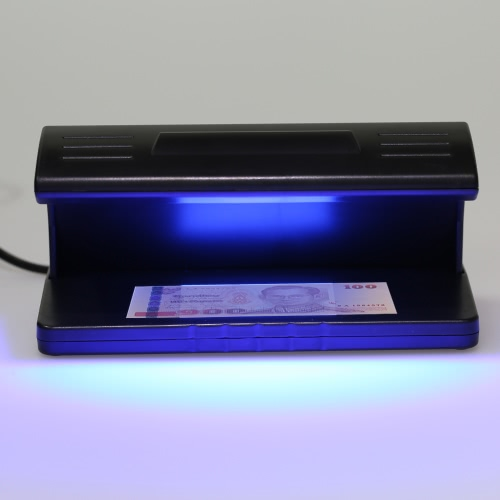 UV Light Money Counterfeit Detector Currency Banknote Detecting Machine Water Mark Detection 220-230V 4W от Tomtop.com INT