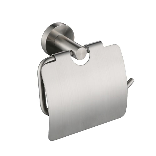 Homgeek Wall Mounted Brushed Stainless Steel Toilet Paper Tissue Rack Holder Hanger for Bathroom Storage Kitchen Hotel от Tomtop.com INT