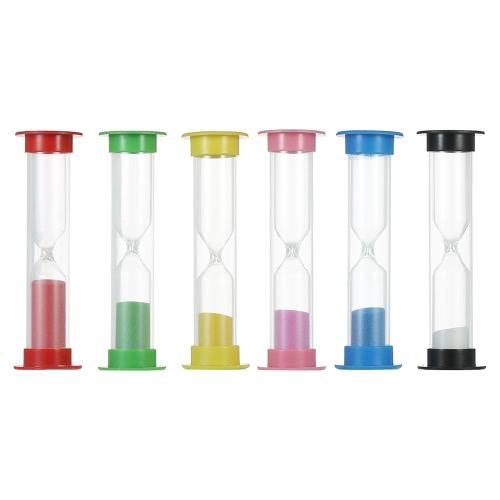 Buy Sand Timer Colorful Sandglass Hourglass Kitchen Office Game 30sec / 1min 2mins 3mins 5mins 10mins